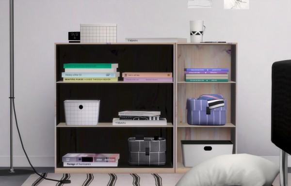 SLOX: Bojo shelf and stackable book set