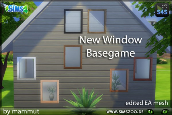 Blackys Sims 4 Zoo: Window 1 small by mammut