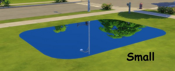 Mod The Sims: Mirror Rugs For Your Rinks by fire2icewitch