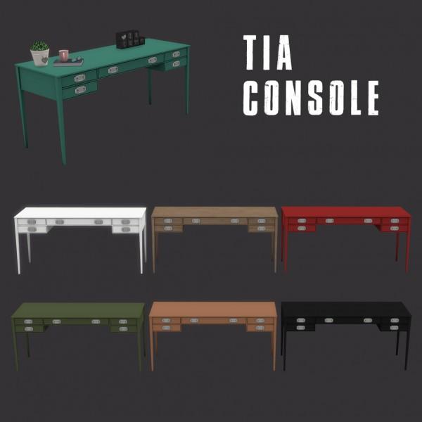 Leo 4 Sims: Tia console