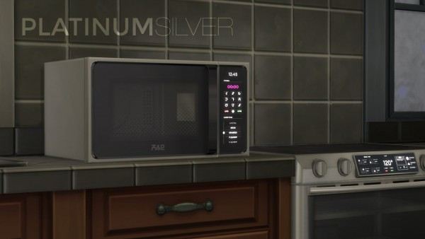 Mod The Sims: H&B MacroWave - Microwave oven by littledica • Sims 4 Downloads