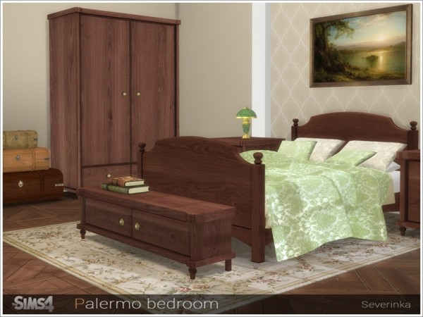 The Sims Resource: Palermo bedroom by Severinka