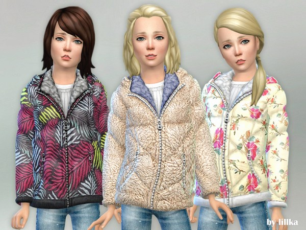 The Sims Resource: Winter Jacket by lillka