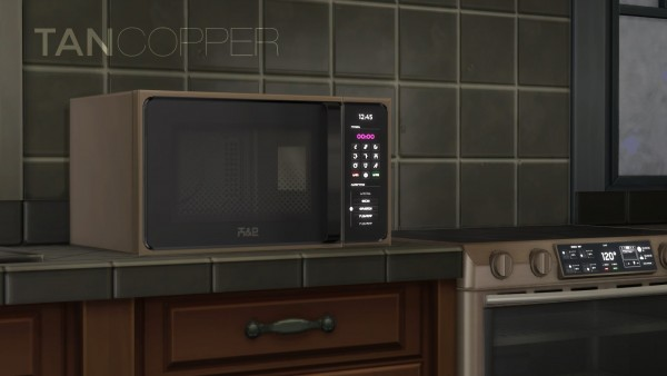 Mod The Sims: H&B MacroWave   Microwave oven by littledica