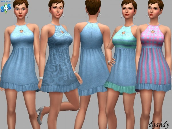The Sims Resource: Dress Alisha by dgandy