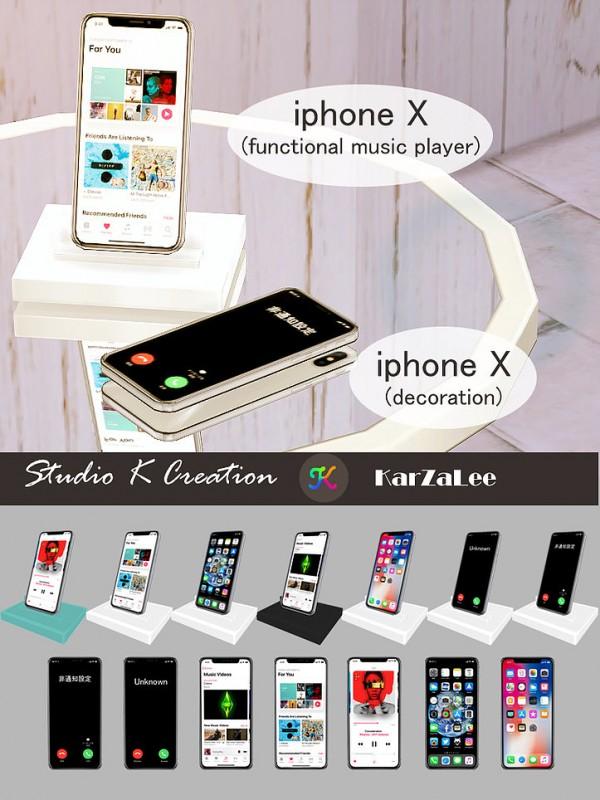 Studio K Creation: Iphone X set (low poly)