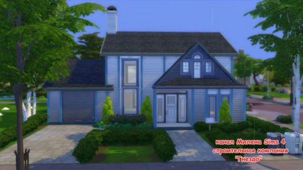 Sims 3 by Mulena: Framework of the house 3 no cc