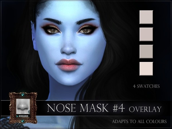The Sims Resource: Nose mask 04 by RemusSirion