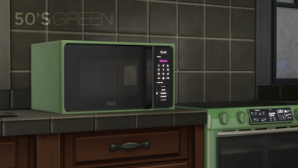 Mod The Sims H Amp B Macrowave Microwave Oven By Littledica