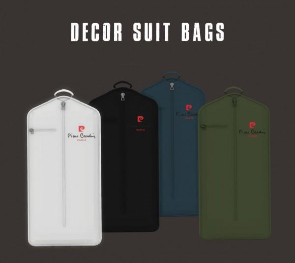 Leo 4 Sims: Decor Suit Bags