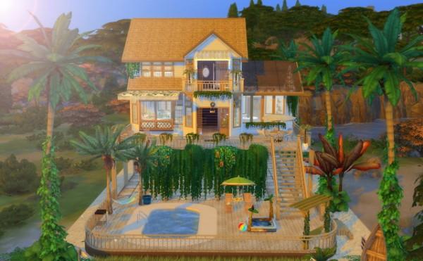 Liily Sims Desing Summer Beach House
