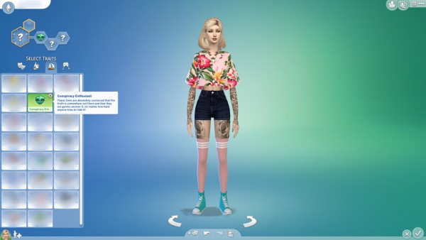 Mod The Sims: Conspiracy Enthusiast Trait by chozobo
