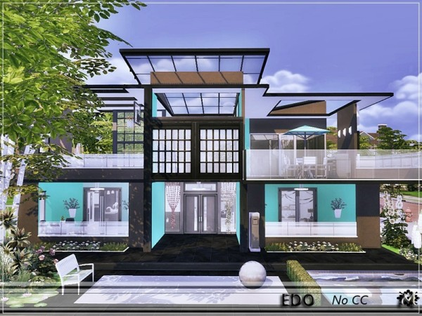 The Sims Resource: Edo house by marychabb