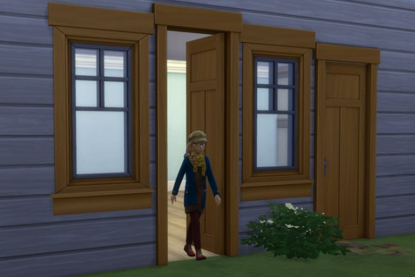 Blackys Sims 4 Zoo: Door latte high by mammut