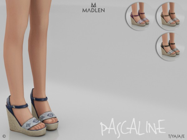 The Sims Resource: Madlen Pascaline Shoes by MJ95