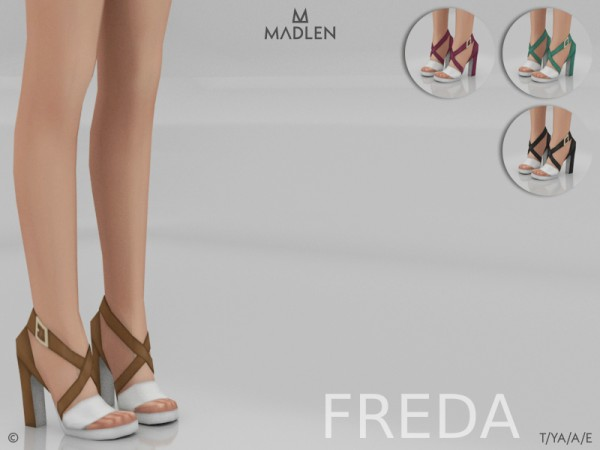 The Sims Resource: Madlen Freda Shoes by MJ95
