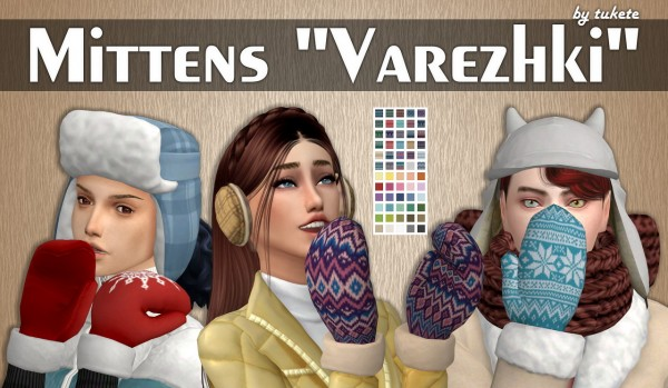 Tukete: Gloves Varezhki