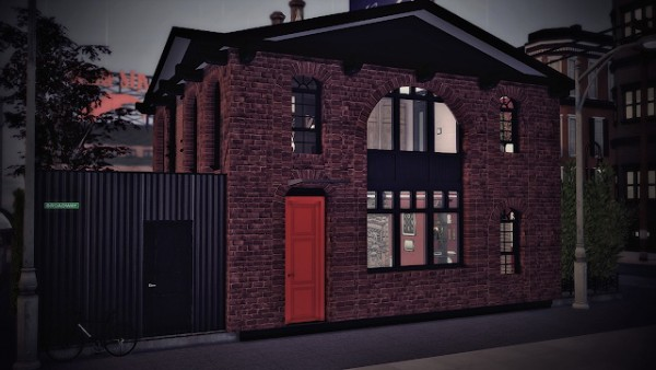 Ideassims4 art: Brooklyn Hight house