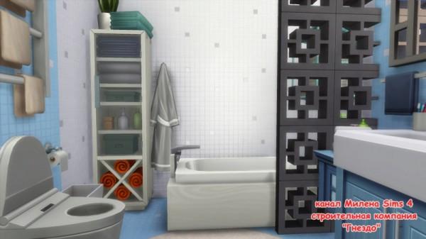 Sims 3 by Mulena: Bathroom Blue Dale