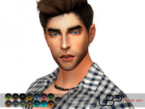 The Sims Resource: Conrad eyes by Urielbeaupre