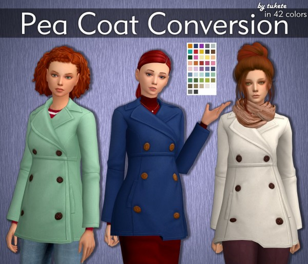 Tukete: Pea Coat Converted