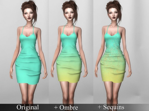 The Sims Resource: Diva Dress by Genius666