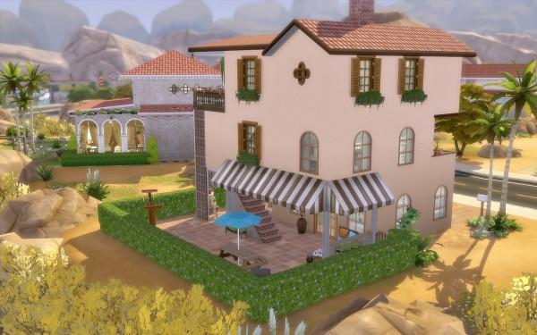 Via Sims: House 54   Oasis Springs
