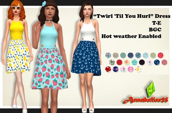 Simsworkshop: Twirl Til You Hurl Dress byAnnabellee25