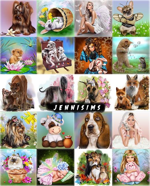Jenni Sims: Paintings My Family