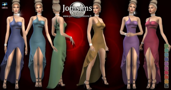 Jom Sims Creations: Saelkaia dress