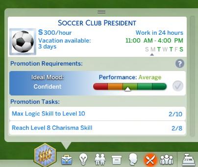 Mod The Sims: Soccer Player Career by tumblrpotato