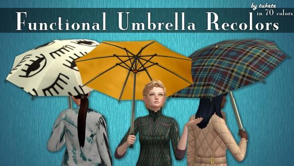 Tukete: Functional Umbrella Recolors