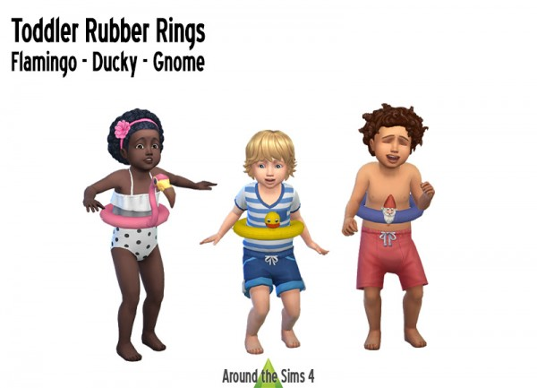 Around The Sims 4: Toddler Rubber Rigns