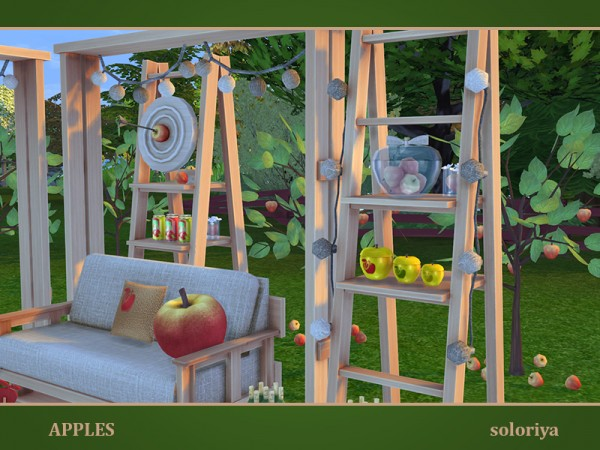 The Sims Resource: Apples outdoor by soloriya