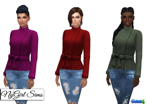 NY Girl Sims: Shortened Bow Jacket