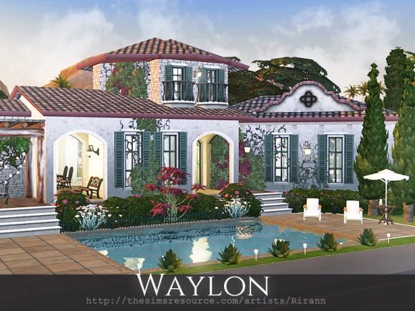 The Sims Resource: Waylon house by Rirann
