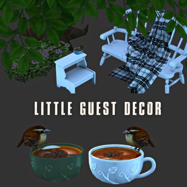 Leo 4 Sims: Little Guest
