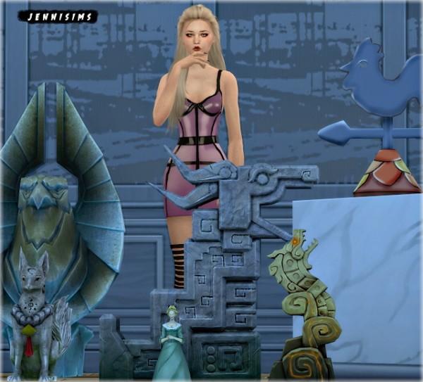 Jenni Sims: Statues Dragon