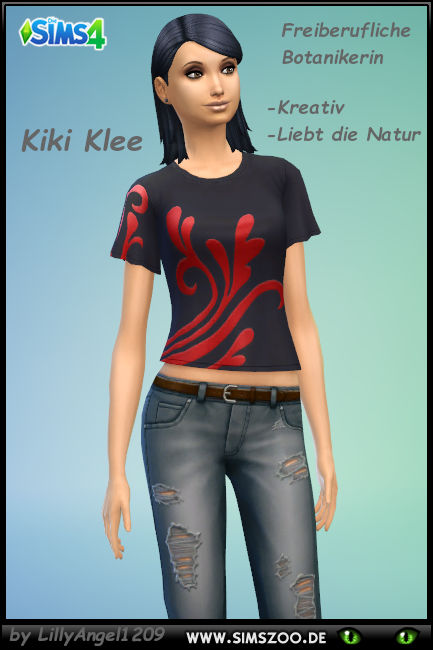 Blackys Sims 4 Zoo: KikiKlee by LillyAngel1209