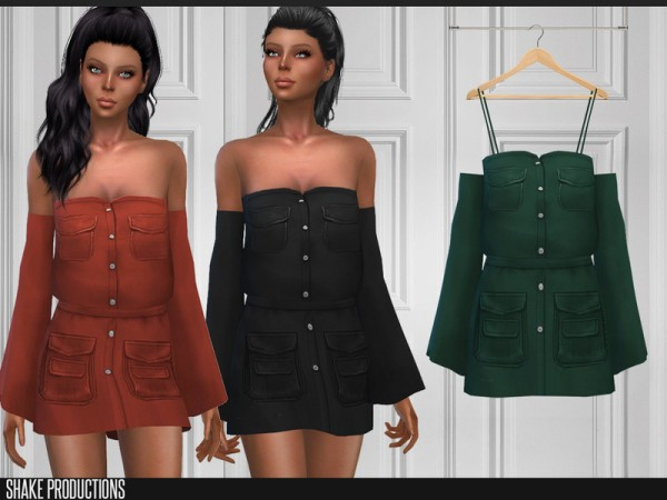 The Sims Resource: Dress 157 by ShakeProductions