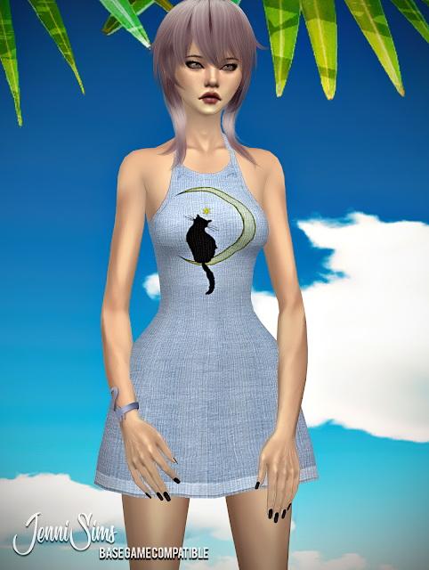 Jenni Sims: Dress On Vacation