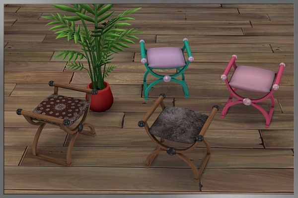Blackys Sims 4 Zoo: The breakthrough chair by Cappu