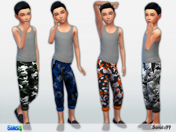 The Sims Resource: Military pants 29 by Sonata77