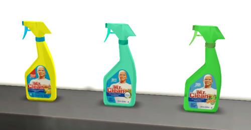 Coati Sims: Mr. Clean range