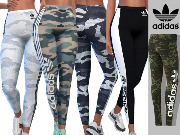 The Sims Resource: Camo Athletic Pants by Pinkzombiecupcakes