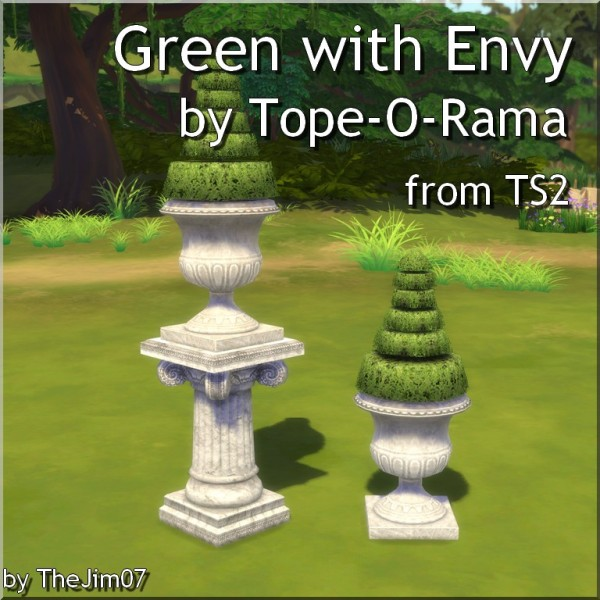 Mod The Sims: Green with Envy by Tope O Rama  by TheJim07