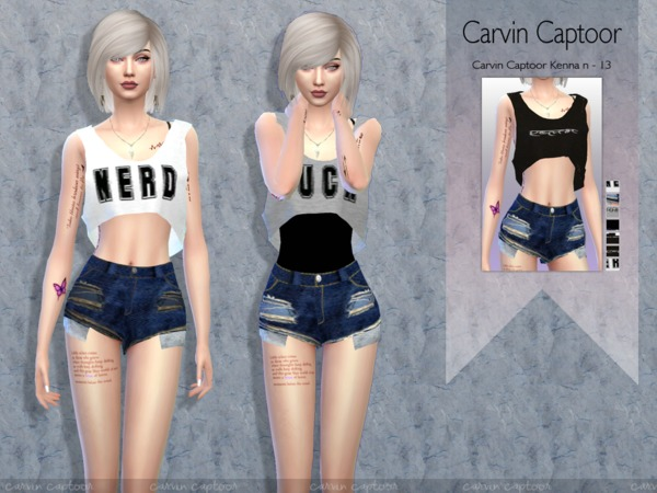 The Sims Resource: Kenna N 13 outfit by carvin captoor