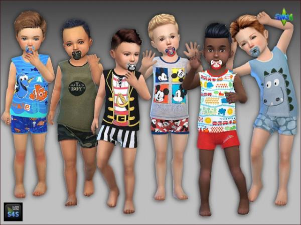 Arte Della Vita: Sleepware and pacifiers for toddler boys