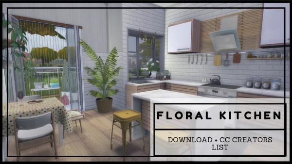 Dinha Gamer: Floral Kitchen
