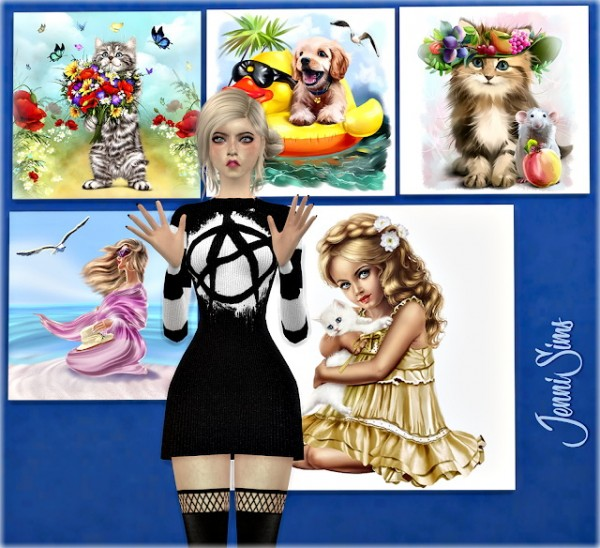 Jenni Sims: Paintings Picnic Party